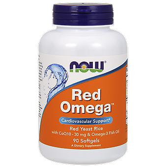 Now Foods Red Omega Red Yeast Rice 180 Softgels (Sport , Athlete's health , Omega 3-6-9)
