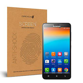 Celicious Impact Anti-Shock Shatterproof Screen Protector Film Compatible with Lenovo A850+