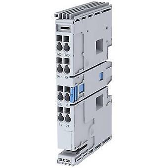 Expansion card RTU, 8-bit, 1 stop bit, No Parity Block EB-MODBUS-RTU 24 Vdc