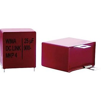Wima DC-LINK DCP4L061008CD4KSSD 1 pc(s) MKP thin film capacitor Radial lead 100 µF 800 V 10 % 52.5 mm (L x W x H) 57 x 45 x 65 mm