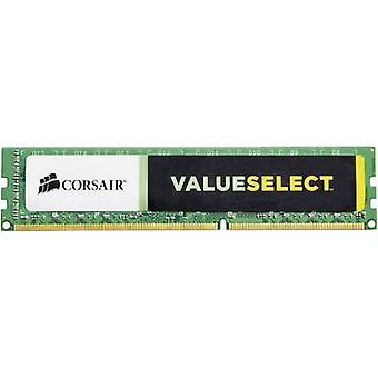 Corsair PC RAM memory Value Select CMV4GX3M1A1600C11 4 GB 1 x 4 GB DDR3 RAM 1600 MHz CL11 11-11-30