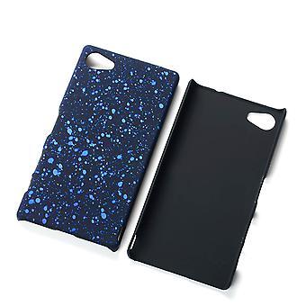 Teléfono celular tapa shell caso de parachoques para Z5 de Sony Xperia compacto 3D estrella azul