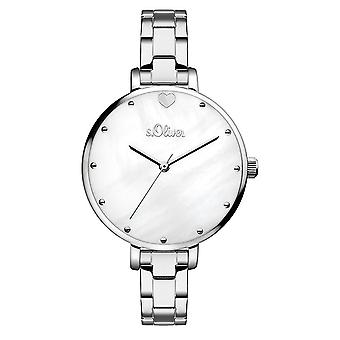s.Oliver women's watch wristwatch stainless steel SO-3549-MQ