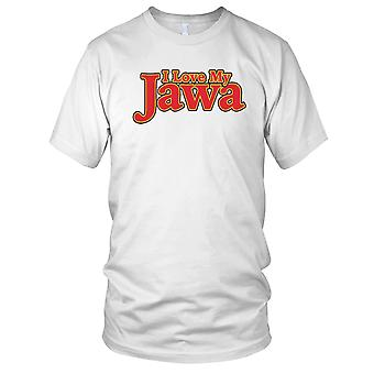 Jeg elsker min Jawa motorsykkel motorsykkel Biker Kids T skjorte
