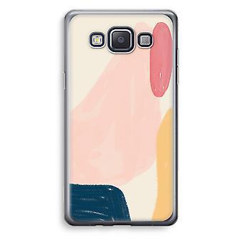 Samsung Galaxy A3 (2015) Transparent Case (Soft) - Saturday Flow