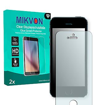 Apple iPhone 5S Screen Protector - Mikvon Clear (Retail Package with accessories)