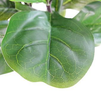 90cm (3ft) Large Artificial Fiddle Fig Tree Ficus Lyrata Plant