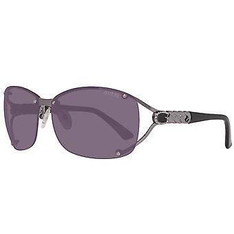 GUESS ladies sunglasses oval silver