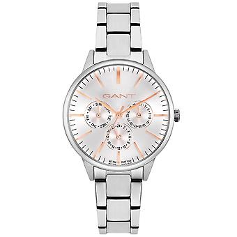 GANT Ladies Stainless Steel Bracelet Watch Silver