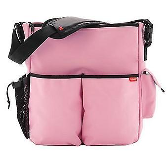 Skip Hop Duo Deluxe Diaper Bag, Mauve