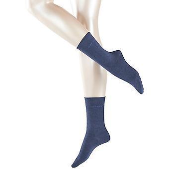 Esprit Basic Pure 2 Pack Socks - Navy Melange