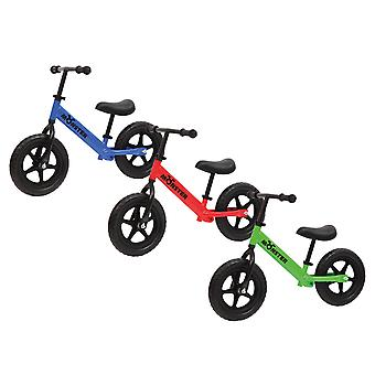 Charles Bentley Kids Monster Balance Bike with Adjustable Cushioned Seat Soft Rubber Handle - 3-5 Years