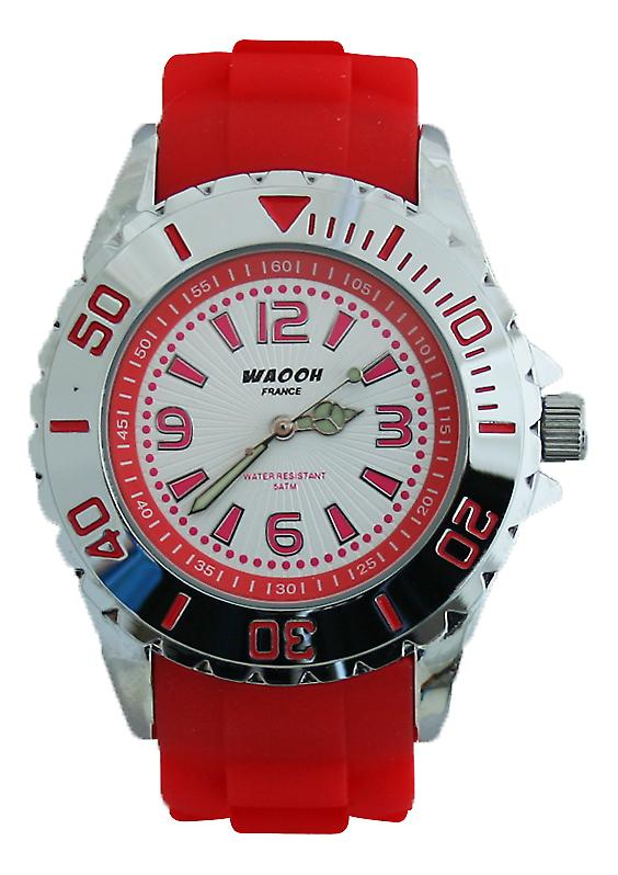 Waooh - Watch KY-44 SILVER