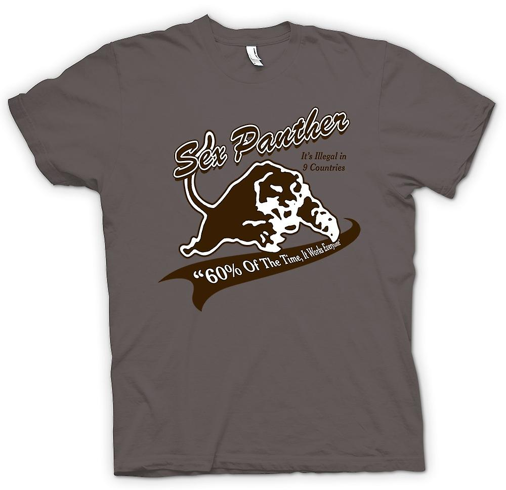 Hommes T-shirt - Anchor Man - Sex Panther - Drôle