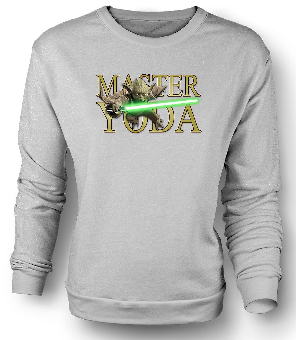Heren Sweatshirt Master Yoda - Jedi - Star Wars - film