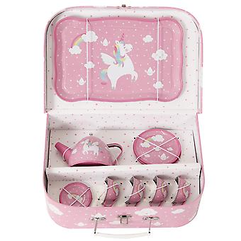 Sass & Belle Rainbow Unicorn Picknick Box Tee-Set