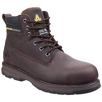 Amblers Safety Mens AS170 Lightweight Full Grain Leather Safety Boot