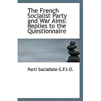 Francuska Partia Socjalistyczna i cele wojny: odpowiedzi na kwestionariusz