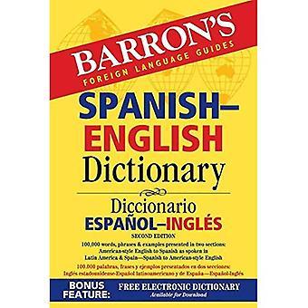 Barron's Spanish-English Dictionary: Diccionario Espanol-Ingles (Barron's Bilingual Dictionaries)