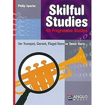 Vakkundige Studies: Trompet, Cornet, bugel of Tenor Horn (bladmuziek)