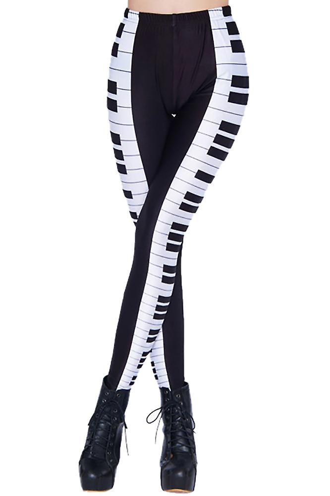 Waooh - Legging printed piano keyboard Srik