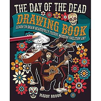 Dagen för döda ritning boken