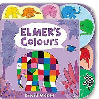 Elmer's Colours (Elmer Picture Books) [Board book]