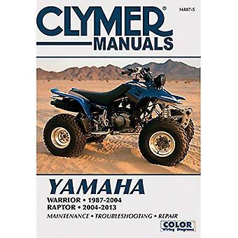 Yamaha Warrior & Raptor ATV Clymer Manual (Clymer Motorcycles)