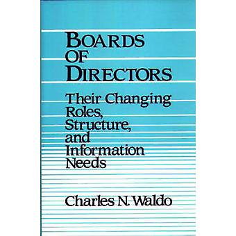 Boards of Directors Their Changing Roles Structure and Information Needs by Waldo & Charles N.