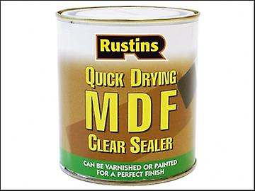 Rustins Quick Drying MDF Sealer Clear 500ml