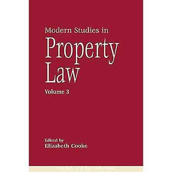 Moderna studier i boendet lag volym 3 av Cooke & Elizabeth