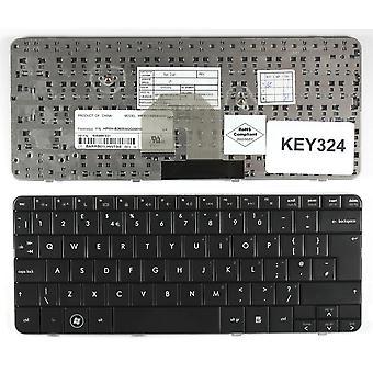 HP Pavilion DV2-1013AU Glossy Black UK Layout Replacement Laptop Keyboard