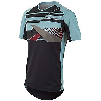 Pearl Izumi Blue Mist-Eclipse Blue Launch Short Sleeved MTB Jersey