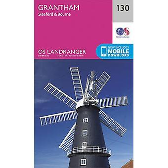 Grantham - Sleaford & Bourne (February 2016 ed) by Ordnance Survey -