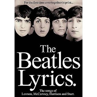 Beatles the Lyrics PVG Songbook Bk by Hal Leonard Publishing Corporat