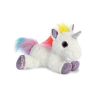 Aurora World Rainbow Unicorn Flopsie, 12
