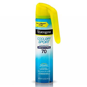 Neutrogena cool dry sport sunscreen spray, spf 70, 5 oz
