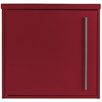 Briefkasten MOCAVI Box 101 purpur-rot (RAL 3004) 10 Liter Wandbriefkasten