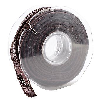 Square Sequin Trim 10Mm X 15.95 Yards Dark Brown 9801 10 61