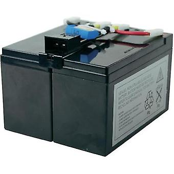 UPS battery Conrad energy replaces original battery RBC48 Suitable for model D