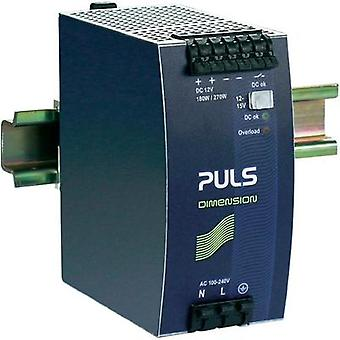 Rail mounted PSU (DIN) PULS DIMENSION QS10.121 12 Vdc 15 A 180 W 1 x