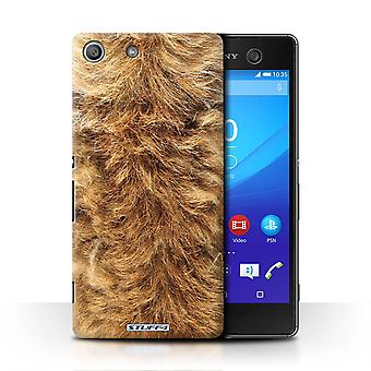 STUFF4 Case/Cover for Sony Xperia M5/Dog/Animal Fur Pattern
