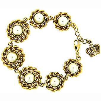 Butler & Wilson Vintage Round Shape Faux Pearls Bracelet