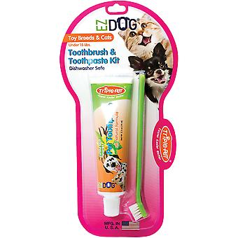 EZ Dog Pet Dental Kit-Toy Breed/Cat FFP7500