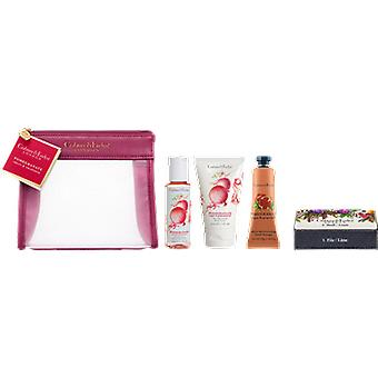 Crabtree & Evelyn Pomegranate, Argan & Grapeseed Traveller Gift Set