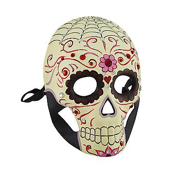 Jeweled Day Of The Dead Skull Fantasy Masquerade Mask