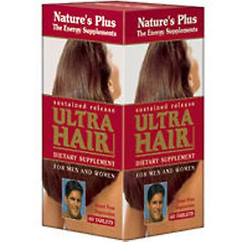 Nature's Plus Ultra Hair Plus 60 Comp. (Vitamins & supplements , Multinutrients)