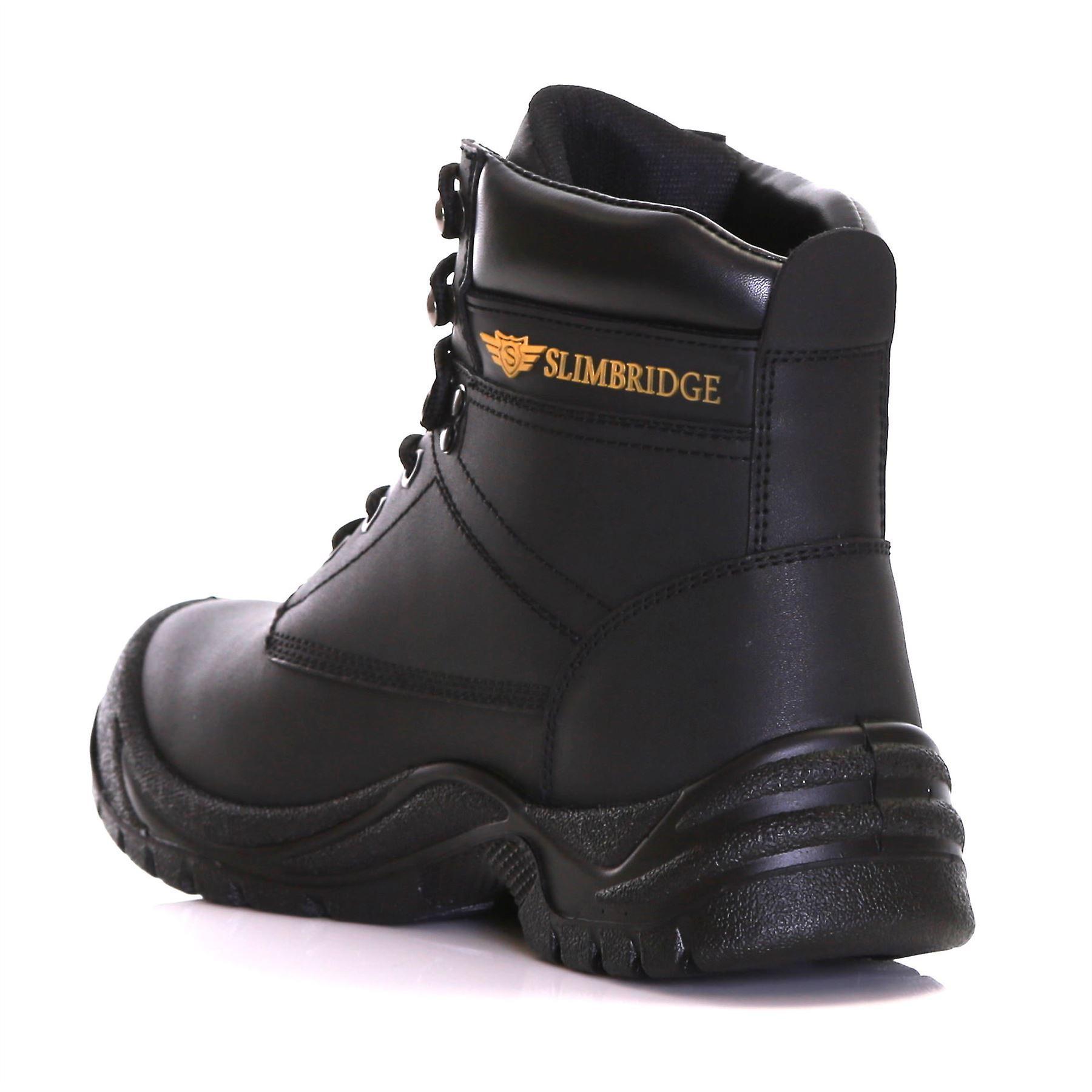 Slimbridge Velbert Size 11 Safety Boots, Black