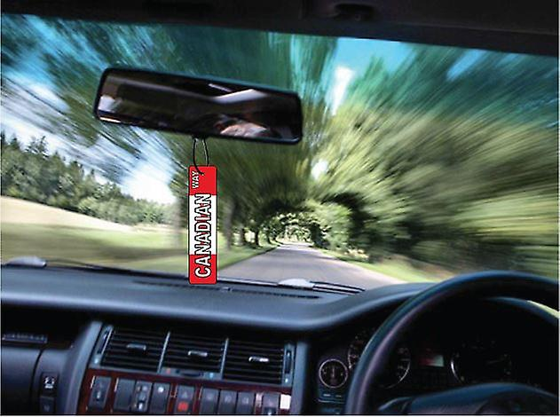 Canadian Way Street Sign Car Air Freshener