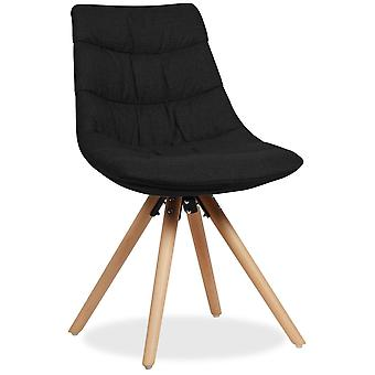 Superstudio Silla Allis -Tapizado Tela--Negro